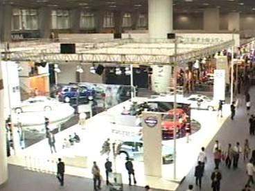 Čínský autosalon