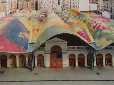 Barcelonské tržiště Santa Caterina