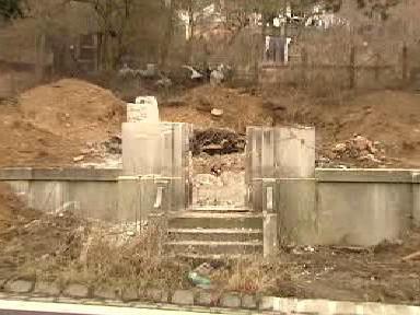 Ruina vodárenského domku