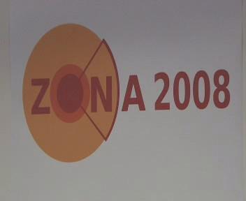 Logo cviční Zóna 2008