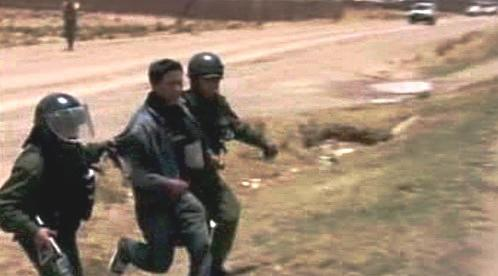 Protesty v Bolívii