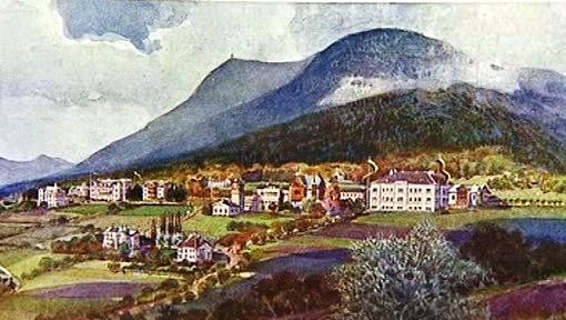 Prachatické lázně na začátku 20. století