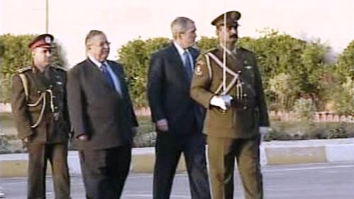 Geirge Bush v Iráku