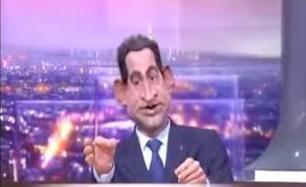 Gumový Sarkozy