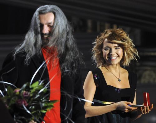 Daniel Hůlka a Lucie Vondráčková