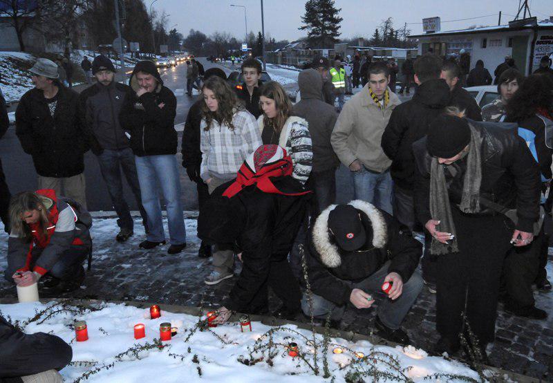 Vzpomínka na litvínovskou demonstraci ze 17. listopadu