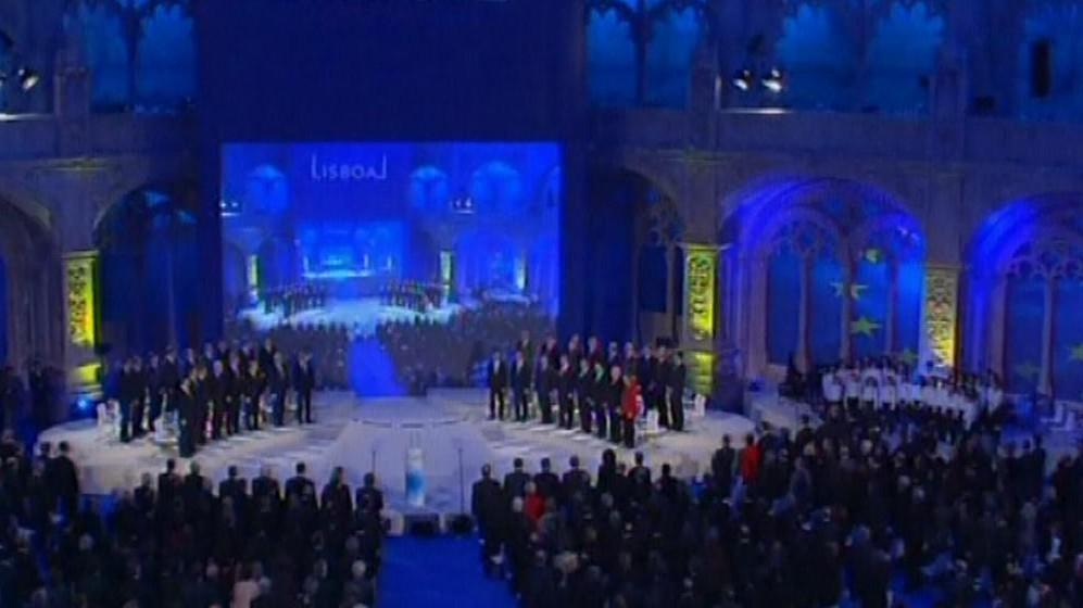 Ceremoniál k podepisování Lisabonské smlouvy