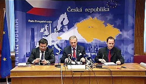 Brífink české delegace na summitu EU