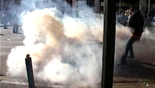 Pouliční nepokoje v Řecku