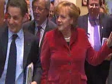 Nicolas Sarkozy, Angela Merkelová a Alexandr Vondra