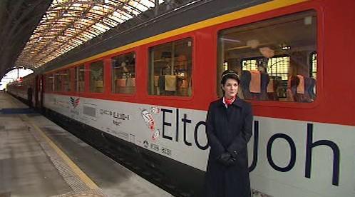 Elton John Train