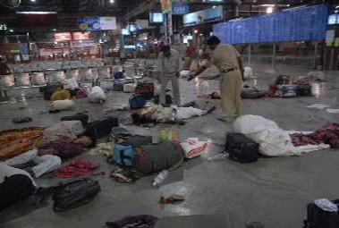 Situace v Bombaji po teroristrickém útoku