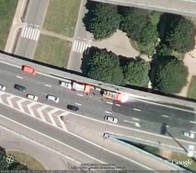 Snímek ze služby Google Earth
