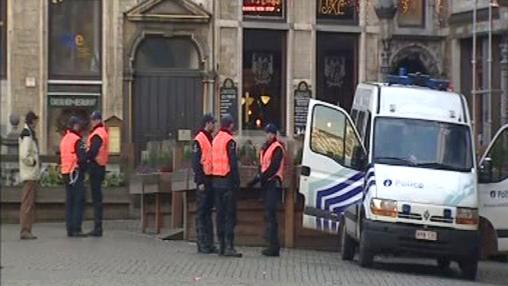 Bruselské ulice v obležení policejních složek