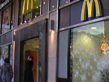 Napadený fast food
