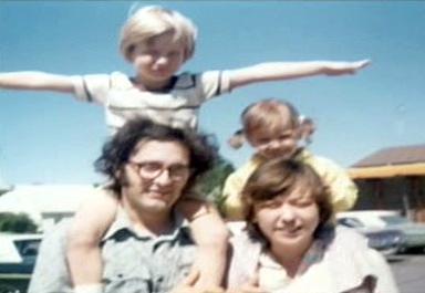 Craig Ewert s rodinou