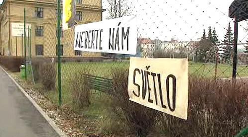 Protest Jedličkova ústavu