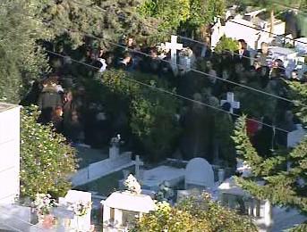Pohřeb Alexandrose Grigoropoulose