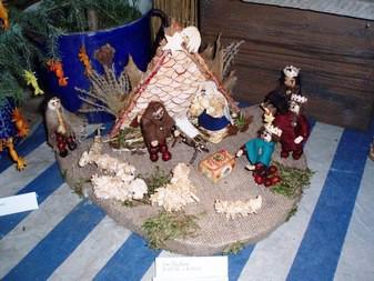 Výstava Vánoce na vsi