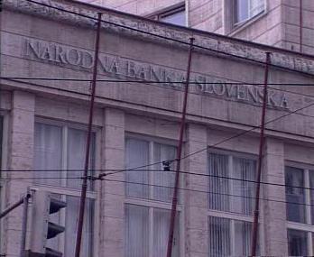 Stará budova Národní banky Slovenska