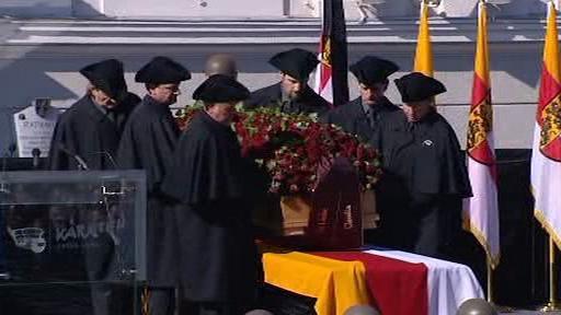 Pohřeb Jörga Haidera