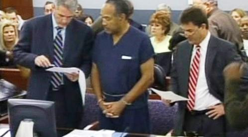 O.J. Simpson před soudem