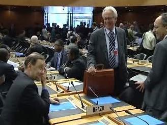 Brazilská delegace na jednání WTO