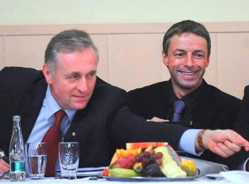 Mirek Topolánek a Pavel Bém