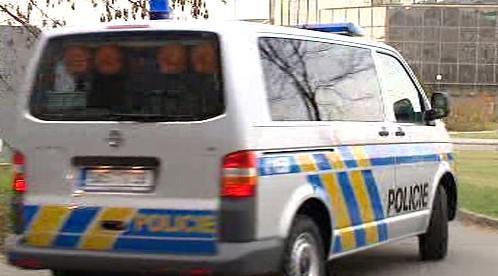 Policejní Volkswagen Transporter