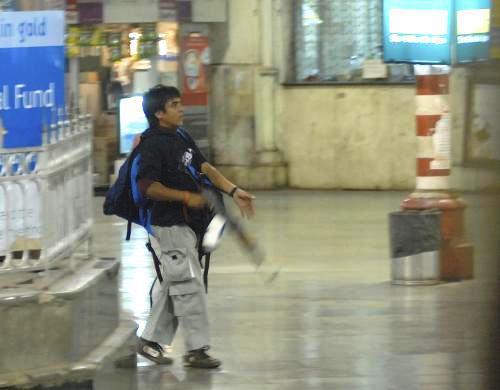 Terorista v Bombaji