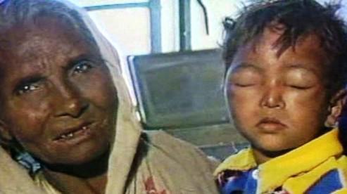 Oběti z Bhópálu