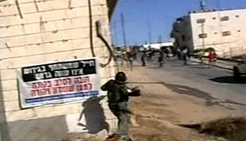 Násilné střety v Hebronu