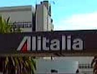 Logo letecké společnosti Alitalia