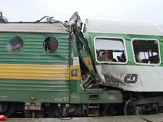 Vlaková nehoda v Moravanech