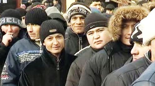 Stávkující dělníci