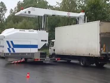 Rentgenování kamionů