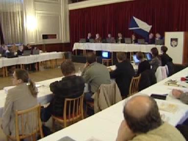 Jednání zastupitelstva Ostrova