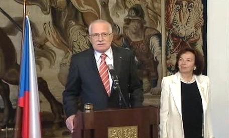 Václav Klaus a Livia Klausová
