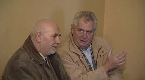 Pavel Rychetský a Miloš Zeman