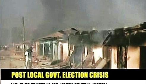 Povolební nepokoje v Nigérii