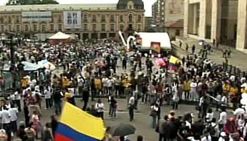 Kolumbijci demonstrovali proti FARC