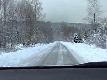 Silnice na Hochficht