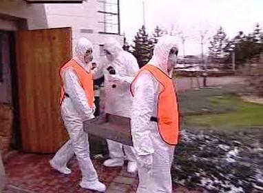 Cvičení v jaderné elektrárně Dukovany