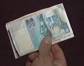Slovenská padesátikorunová bankovka
