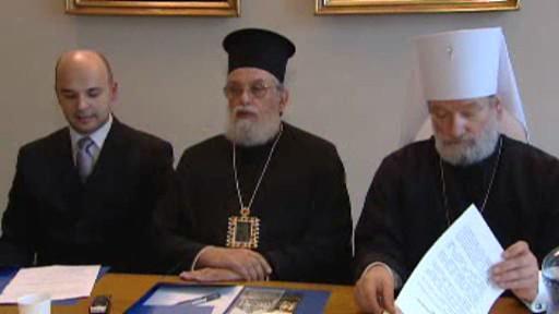 Představitelé českých pravoslavných