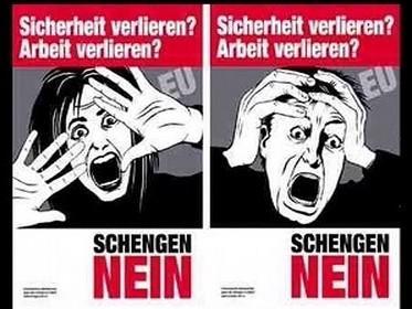 Kampaň proti vstupu Švýcarska do schengenského prostoru