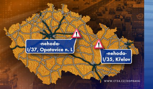 Dopravní situace v pátek 28. 11. 2008