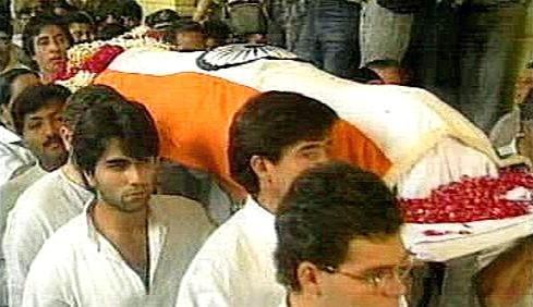 Pohřeb Radžíva  Gándhího