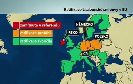 Ratifikace Lisabonské smlouvy v EU