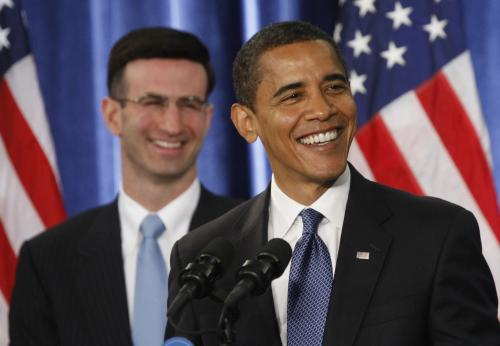 Peter Orszag a Barack Obama